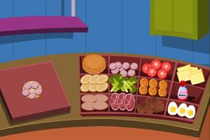 《汉堡加工店》截图1