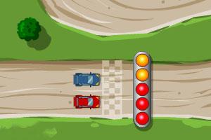 《丘名山赛车》游戏画面1
