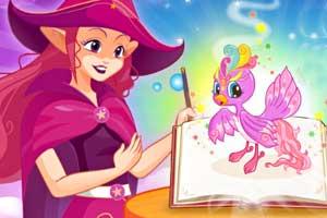 《小魔女的魔法棒》游戏画面1