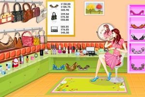 《装饰美女的时尚小屋》游戏画面1