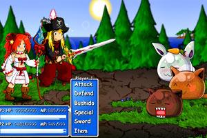 《RPG幻想大战bate版》游戏画面1