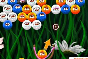 《可爱毛球》游戏画面1