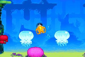 《海底世界冒险英文版》游戏画面1