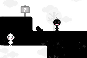 《黑白小人大闯关》游戏画面1