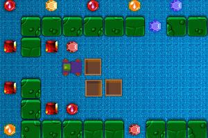 《火车寻宝石》游戏画面1