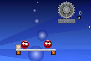 《炸死红脸》游戏画面1