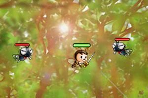 《小蜜蜂剑客》游戏画面1