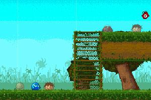 《蓝色小球闯天关2》游戏画面1