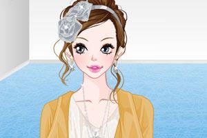 《户外美女化妆版》游戏画面1