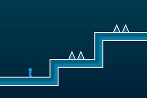 《阿扎过冰山》游戏画面1