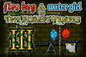 《森林冰火人3山寨中文版》游戏画面1