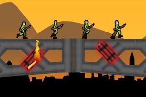 《爆破桥梁》游戏画面1