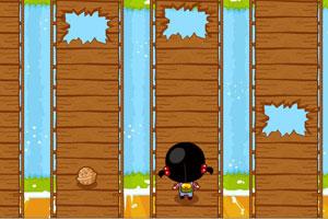 《小黑花花过断桥》游戏画面1