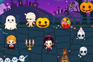 《阿sue万圣节的约会》游戏画面1