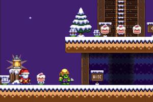 《圣诞老人与冰激凌蛋糕》截图1