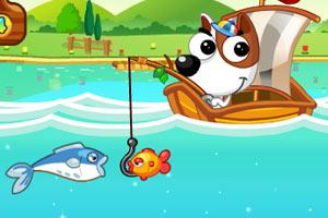 《狗狗钓鱼》截图1