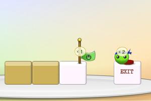 《绿豆回家记》游戏画面1