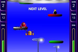 《机器人下一百层》游戏画面1