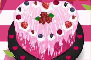 《浪漫情人节蛋糕》游戏画面1