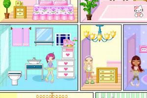 《YouYou小型娃娃屋》游戏画面1