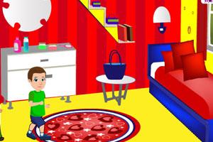 《帮妈妈打扫房间》游戏画面1