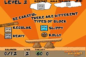 《平衡木块》游戏画面1