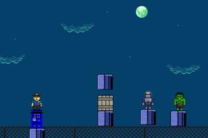 《警察大战超人》游戏画面1