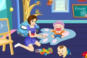 《宝宝幼儿园》游戏画面1