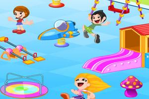 《布置游乐空场》游戏画面1