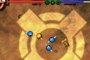 《格斗小球竞技场变态版》游戏画面1
