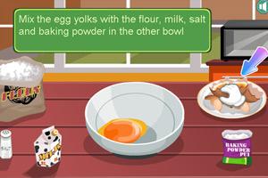 《泰莎制作美国薄饼》游戏画面1