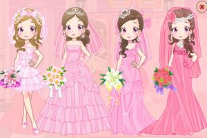 《可爱粉红新娘》游戏画面1