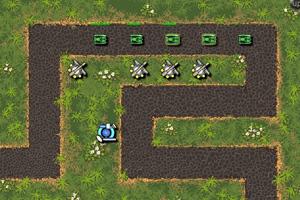 《玩具坦克防御》游戏画面1