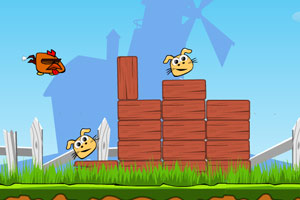 《愤怒的小鸡》游戏画面1
