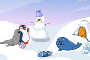 《南极动物的家》游戏画面1
