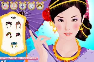 《传统日本美女》游戏画面1
