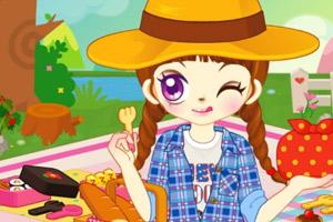 《阿Sue快乐野餐》游戏画面1