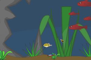 《深海小鱼》游戏画面1