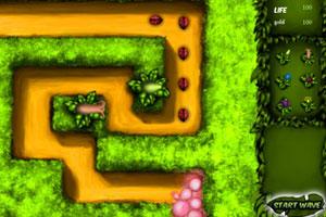《植物大战昆虫》游戏画面1