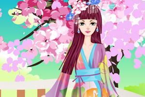 《樱花和服艺妓》游戏画面1