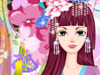 樱花和服艺妓