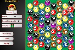 《台球对对碰》游戏画面1