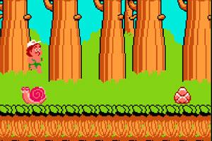 《高桥名人大冒险无敌版》游戏画面1