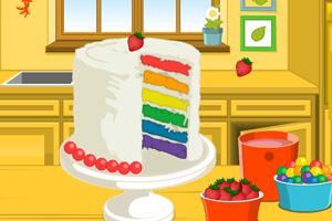 《艾瑪做彩虹蛋糕》游戲畫面1