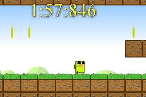 《超级绿方块》游戏画面1