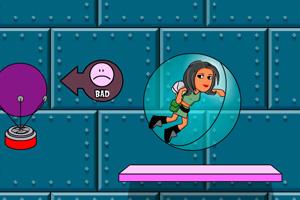 《泡泡女孩冒险无敌版》游戏画面1