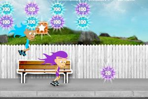 《姐妹街头溜冰》游戏画面1