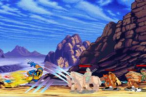 《金刚狼穿越三国无敌版》游戏画面1
