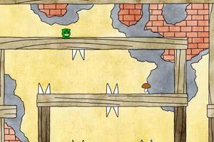 《三眼小绿怪找蘑菇》游戏画面1
