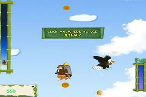 《空降的袋鼠》游戏画面1